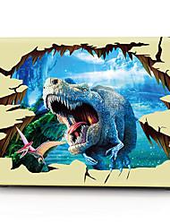 "Case for Macbook 13"" Macbook Air 11""/13"" Macbook Pro 13"" MacBook Pro 13"" with Retina display Animal Plastic Material 3D Dinosaur Pattern"