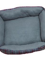 Dog Bed Pet Blankets Black / Green Fabric