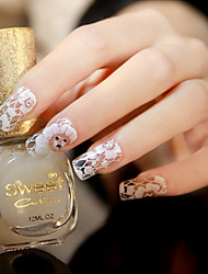 1Pcs Nail Art Sticker  Water Transfer Decals / Lace Sticker / 3D Nail Stickers Makeup Cosmetic Nail Art Design