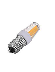 4W E14 Lâmpadas Espiga 300LM lm Branco Quente / Branco Frio Regulável AC 220-240 V 1 pç