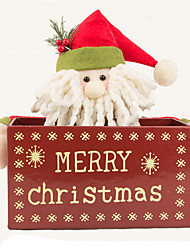 Christmas Decorations Santa Suits Snowman Textile