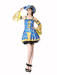 Pirate Costume Festival/Holiday Costumes Dress / Sleeves / Hat  Female Polyester