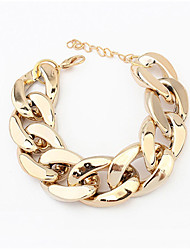 Women's Chain Bracelet Alloy Bohemian Punk Fashion Infinity Jewelry Sliver Golden Jewelry 1pc
