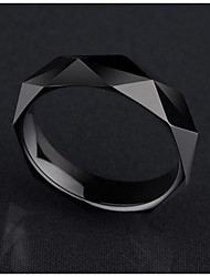 Ring Non Stone Daily / Casual Jewelry Tungsten Steel Women / Men Ring 1pc,One Size Gold / Black / Silver