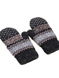 (примечание - черный) мс. двойной слой плюс бархат тепло вязаные сумки относится к внешней торговли перчатки