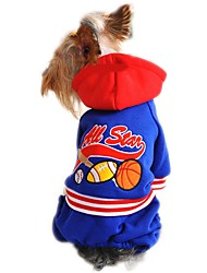 NBA All Star Pattern Coat with Hoodie and Pants for Pets Dog (Assorted Sizes and Colours)