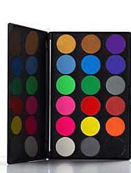 18 Eyeshadow Palette Dry Eyeshadow palette Pressed powder Daily Makeup