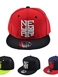 Baseball cap children hip-hop baseball cap Embroidered cap Flat brim hat Breathable / Comfortable  BaseballSports