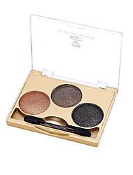3 Eyeshadow Palette Dry Eyeshadow palette Cream Normal Daily Makeup