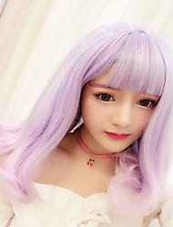 Niedlich Farbverläufe Lolita Perücken 45 CM Cosplay Perücken Für