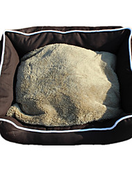 Dog Bed Pet Mats & Pads Brown Fabric