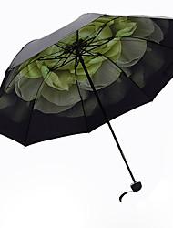 Verde Guarda-Chuva Dobrável Sombrinha Alumínio / Plastic Carrinho