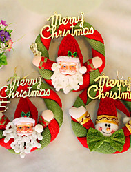 Christmas Wreath Christmas Decoration For Home Party Diameter 20cm Navidad New Year Supplies