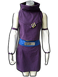 Naruto Anime Cosplay Costumes Top / Shorts/Skirt/Belt/Sleeves  female