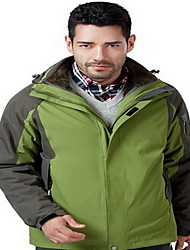 Hiking Tops Women's / Men's Waterproof / Thermal / Warm / Windproof / Insulated / Comfortable Spring / Fall/Autumn / Winter TactelYellow