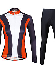 Ilpaladin Women Long Sleeve Cycling Jerseys Suit CT736