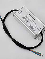 100W LED Driver Switching Power Supply for Street LED Lighting / Moving Sign Applications(AC90-295V Input / DC48V Output) / CC/ IP67 / PFC