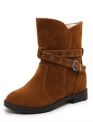 Women's Boots Increased Within Belt Fastener Spring / Fall Others Suede Dress / Casual Low Heel