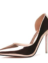 Women's Shoes Slip-on Split Joint Snake Pattern Heels/Pumps Pointed Toe Stiletto Heels Party/Dress Shoes