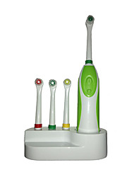 Power Toothbrushes Cruelty Free / Unscented Adult Green ABS