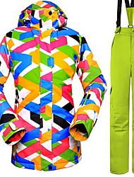 Hiking Tops / Bottoms Women's Waterproof / Thermal / Warm / Windproof / Insulated / Comfortable Spring / Fall/Autumn / WinterTerylene /