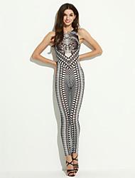 Combinaisons Aux femmes Sans Manches Sophistiqué Polyester Moyen Micro-élastique