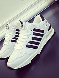 Damen-Sneaker-Lässig-MikrofaserKomfort-Schwarz / Grau / Orange
