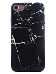 Per Fantasia/disegno Custodia Custodia posteriore Custodia Effetto marmo Morbido TPU per Apple iPhone 7 Plus / iPhone 7 / iPhone 6s/6