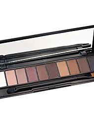 10 Lidschattenpalette Matt Schimmer Lidschatten-Palette Creme Alltag Make-up