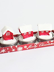 2016 Fashion New Removable Vintage Novelty Christmas Tree Santa Claus Shoes Candles Boxes Style