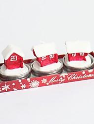 nova árvore de Natal novidade removível do vintage 2016 de moda de Santa do estilo sapatos Noel velas caixas