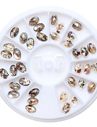1PC  Nail Art Shell Gem Shell Pieces Of Drill  Star In a Box