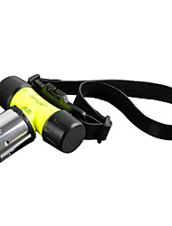 Lights LED Flashlights/Torch / Headlamps / Handheld Flashlights/Torch LED 1800 Lumens 3 Mode Cree XM-L T6 18650 / AAAWaterproof /