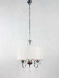 Elegante 3-Light Crystal Accent Pingente