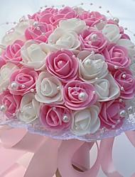 Fleurs de mariage Rond Roses Bouquets Mariage La Fête / soirée Mousse Env.25cm