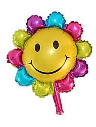 Воздушные шары Товары для отпуска Круглый / Загар и защита от солнца Алюминий Радужный Для мальчиков / Для девочек 5-7 лет