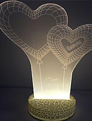 2016 de alta qualidade lâmpada da noite 3d bonito DC5V tabela liderada