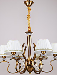 Pendant Light ,  Traditional/Classic Antique Brass Feature for Mini Style Metal Dining Room Study Room/Office