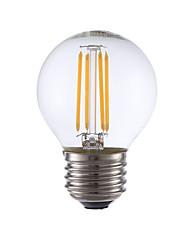 3.5 E26/E27 Lâmpadas de Filamento de LED G16.5 4 COB 350 lm Branco Quente Regulável AC 110-130 V 1 pç