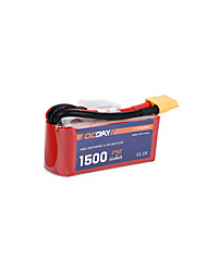 OCDAY 11.1V 1500mAh 75C Lipo Battery XT60 Plug for 150-280 Raing Quacopter