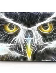 "Case for Macbook 13"" Macbook Air 11""/13"" Macbook Pro 13"" MacBook Pro 13"" with Retina display Animal Plastic Material Owl Head MacBook Computer Case"