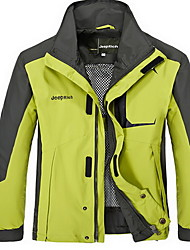 Hiking Tops Men's Waterproof / Thermal / Warm / Windproof / Insulated / Comfortable Spring / Fall/Autumn / Winter TeryleneYellow / Army