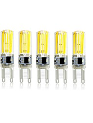 5PCS G9 2809 SMD COB AC220V 1500 lm Warm White Neutral White Glue Waterproof Lamp Other