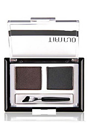 Eyebrow Powder Dry Long Lasting / Natural Eyes 1 2