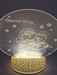 lámpara de mesa de noche 3d ilusión venta caliente regalo de vacaciones de alta calidad