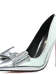 Damen-High Heels-Lässig-NappalederOthers-Silber / Gold