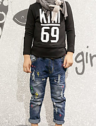 Boy Casual/Daily Print Pants-Cotton Winter / Fall