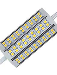 15W R7S Luz de Decoração T 54LED SMD 5050 1100LM lm Branco Quente / Branco Frio Decorativa V 1 pç