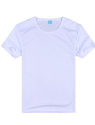 Hombres Mangas cortas Carrera / Running Camiseta Transpirable Secado rápido Ropa deportiva Deportes recreativos Ciclismo/Bicicleta