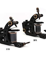 bobina de ferro máquina de tatuagem conjunto para forro e shader